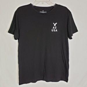 American Eagle T Shirt Graphic Short Sleeve Crew